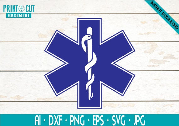 star of life svg #461, Download drawings