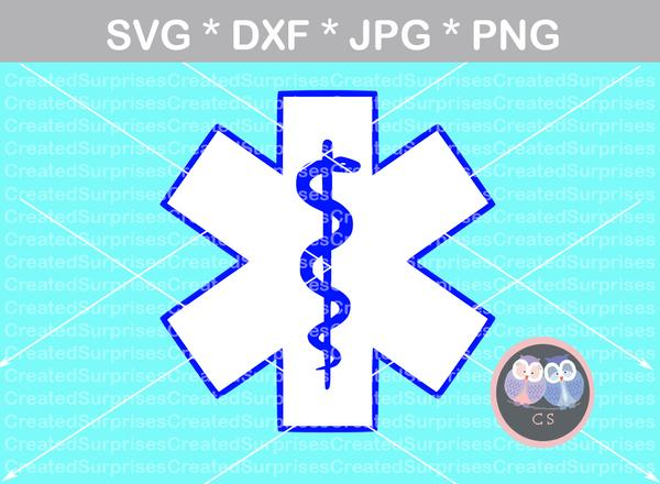 star of life svg #460, Download drawings
