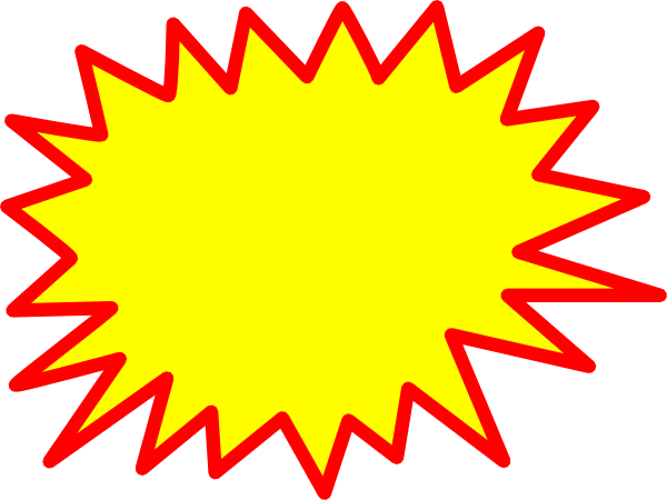 Starburst clipart #14, Download drawings