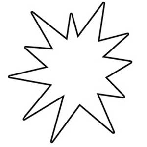 Starburst clipart #13, Download drawings