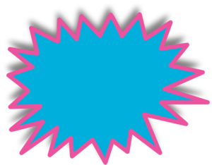 Starburst clipart #5, Download drawings