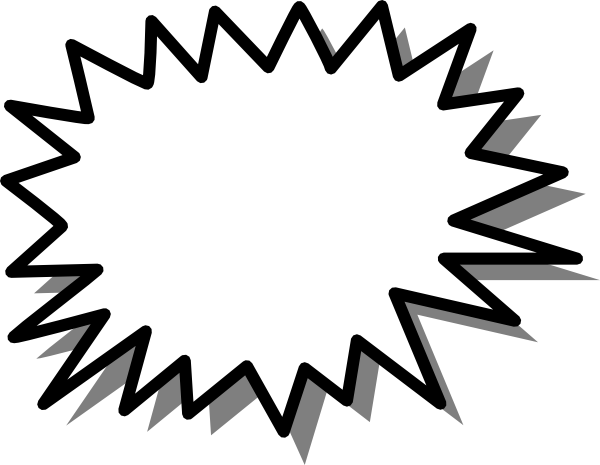 Starburst clipart #17, Download drawings