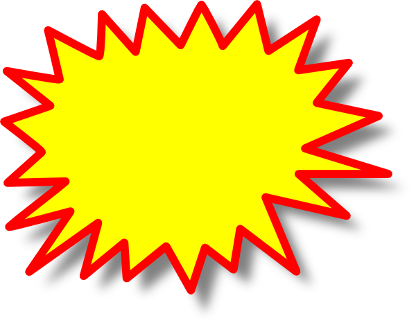 Starburst clipart #6, Download drawings