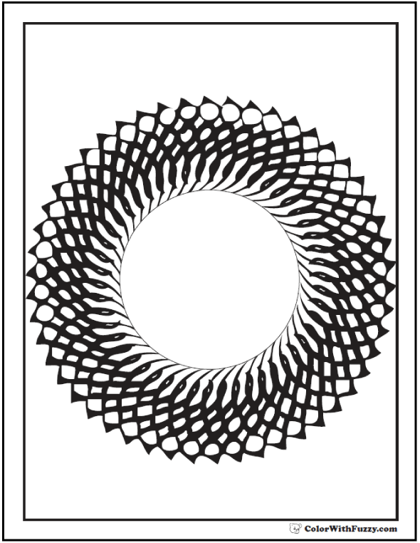 starburst coloring pages - photo#24