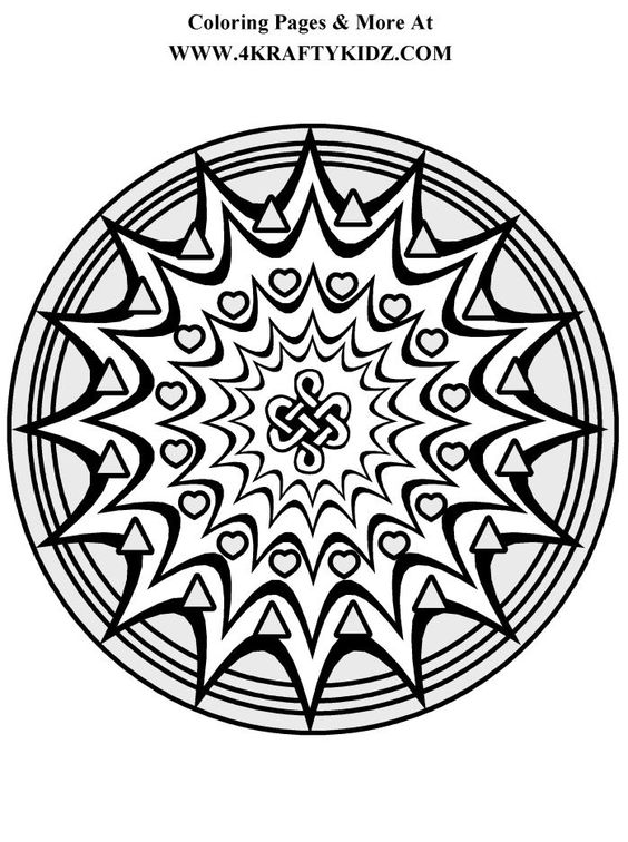starburst coloring pages - photo#18
