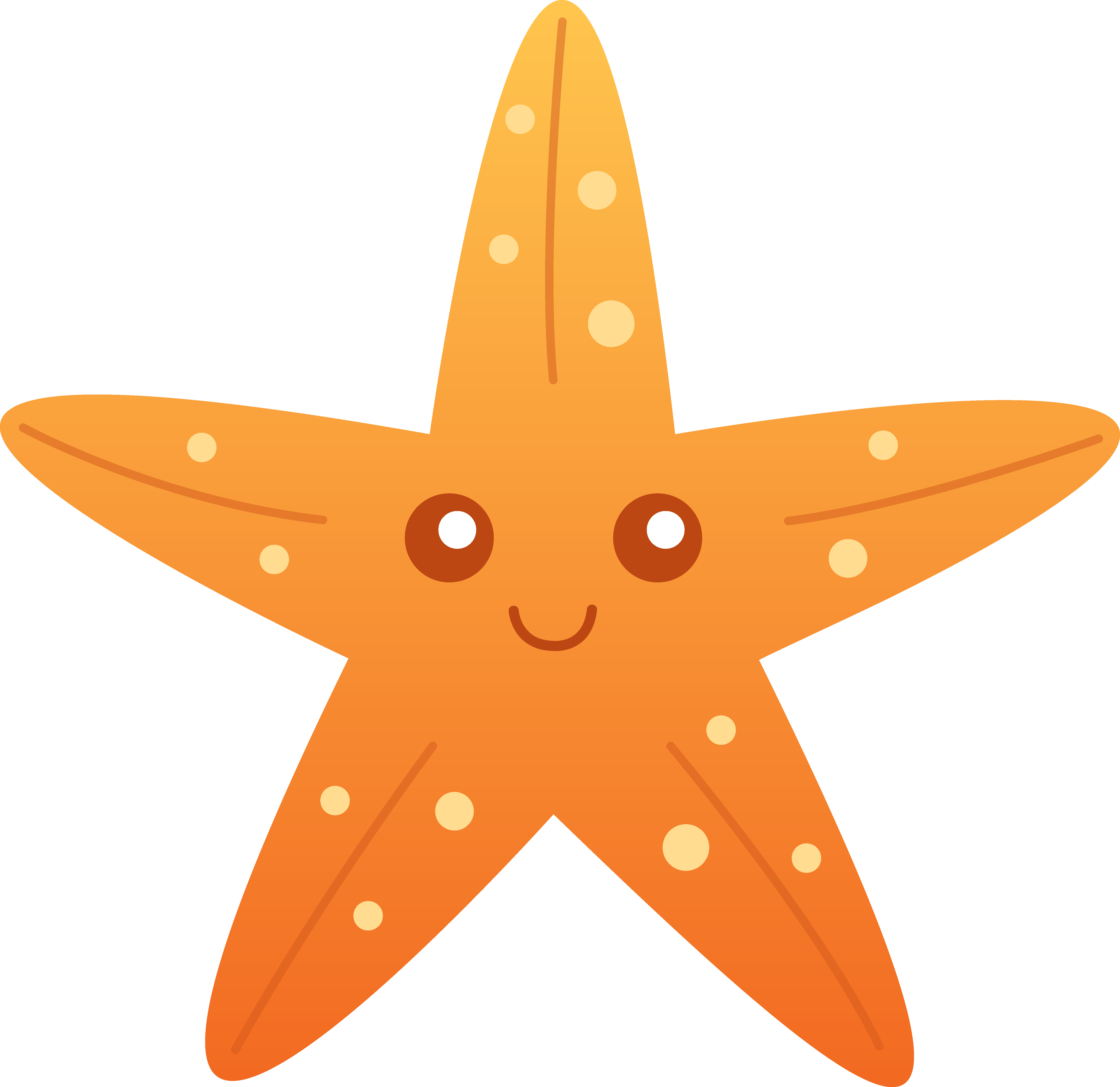 Starfish clipart #4, Download drawings
