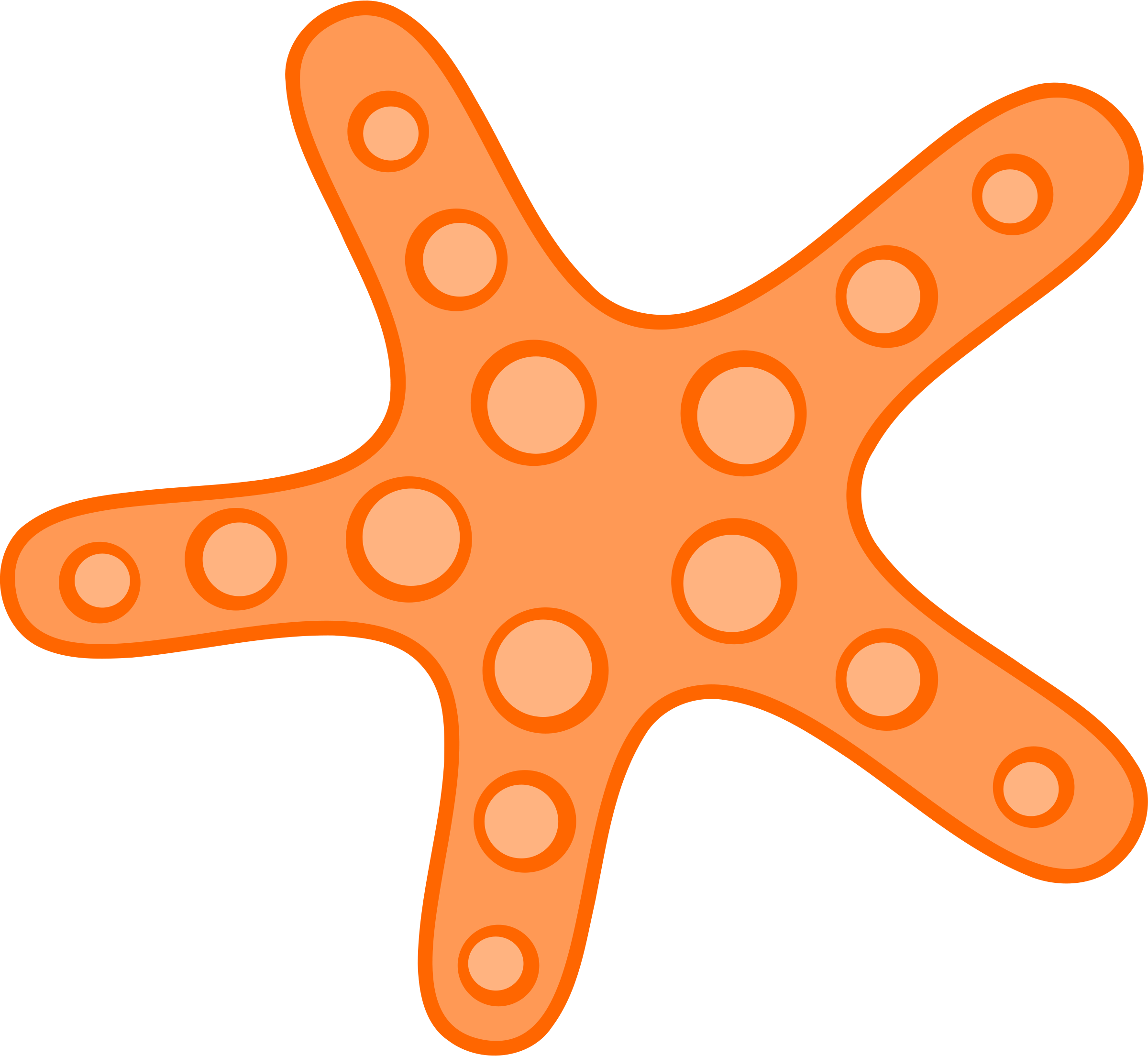 Starfish clipart #5, Download drawings
