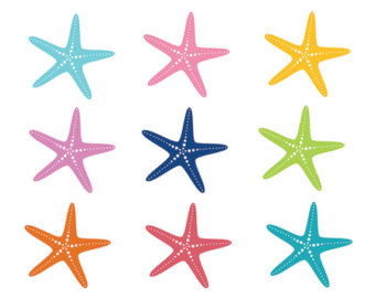Starfish clipart #16, Download drawings