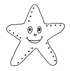 starfish coloring pages to print - photo#23