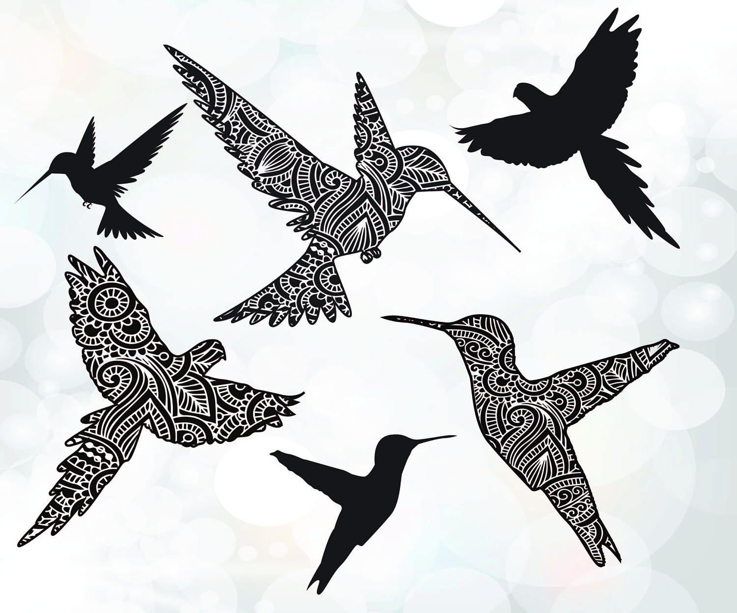 Starling svg #4, Download drawings