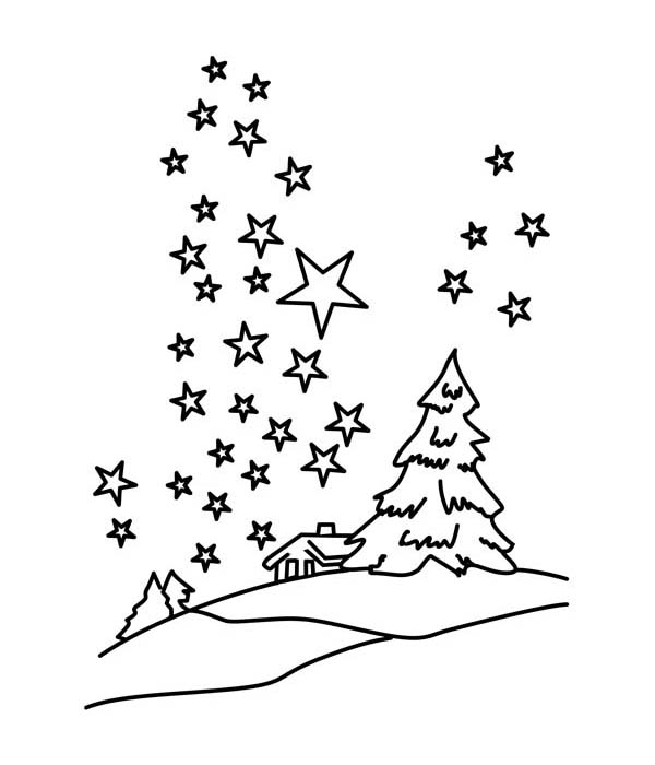 Download Starry Sky coloring for free - Designlooter 2019