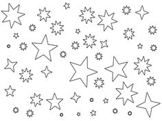 Starry Sky coloring #17, Download drawings