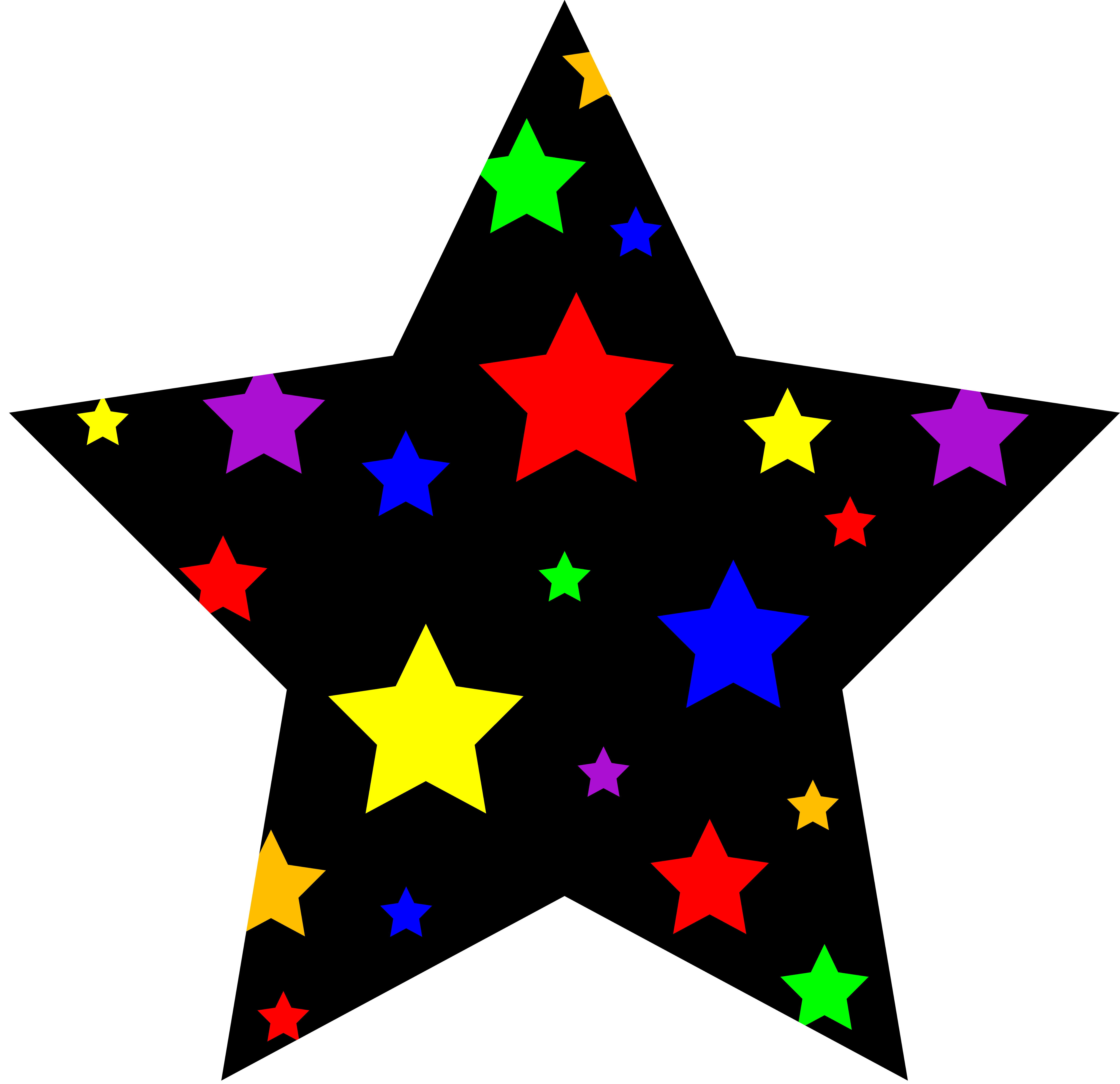 Stars clipart #2, Download drawings