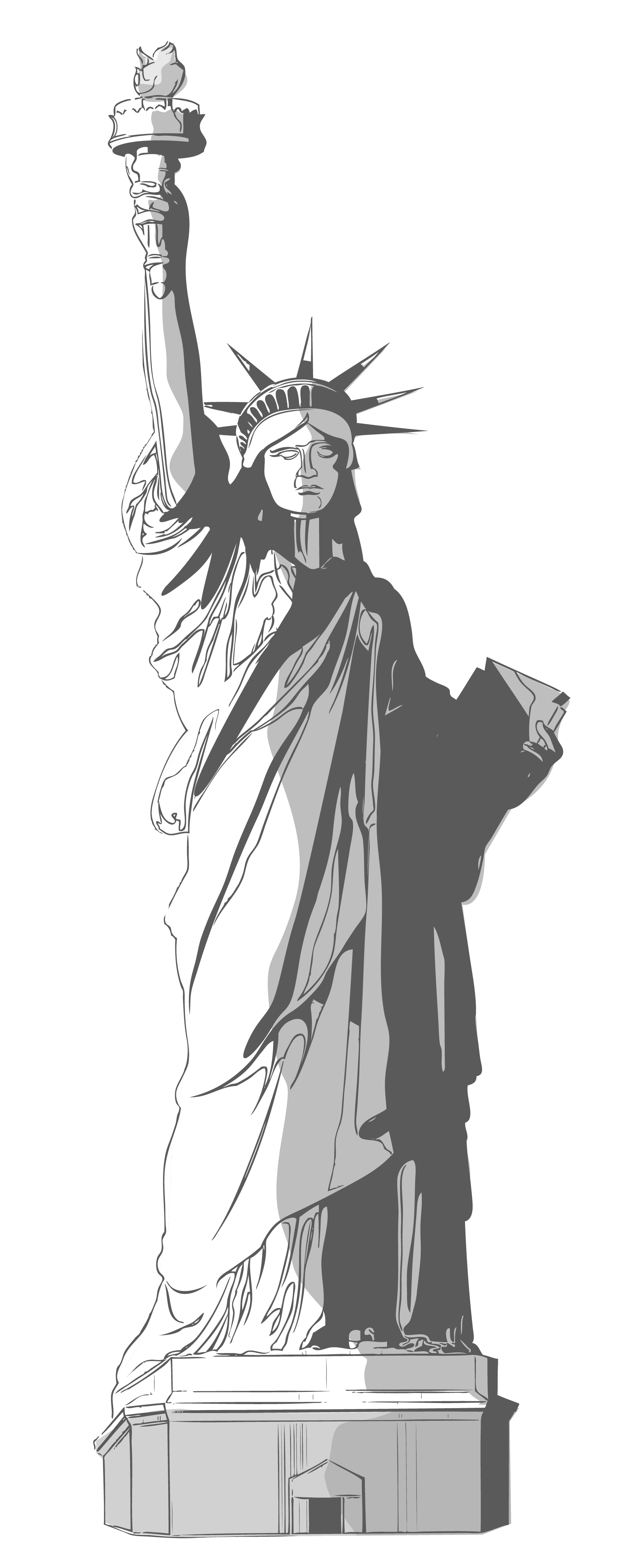 Statue clipart #5, Download drawings