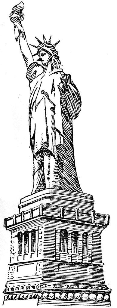 Statue clipart #7, Download drawings