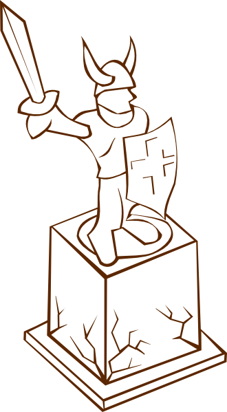 Statue clipart #20, Download drawings