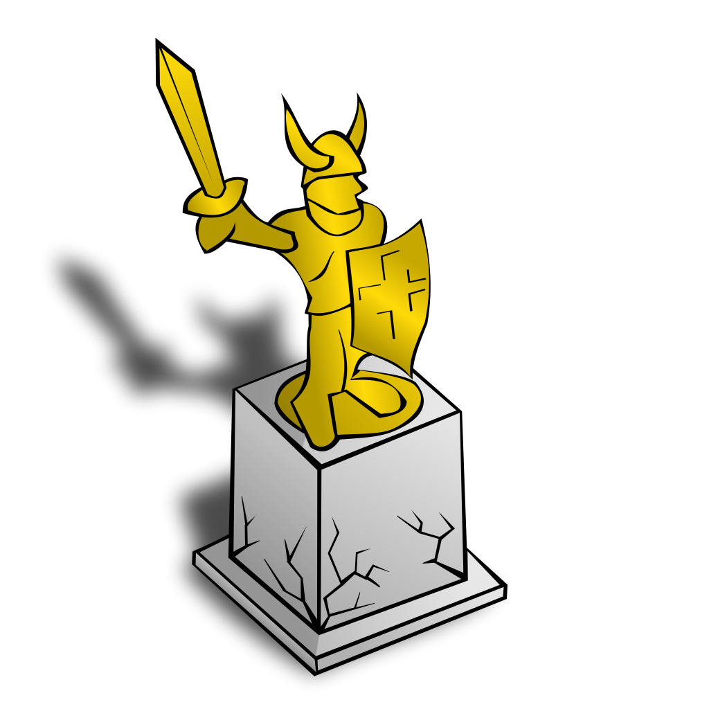 Statue svg #1, Download drawings