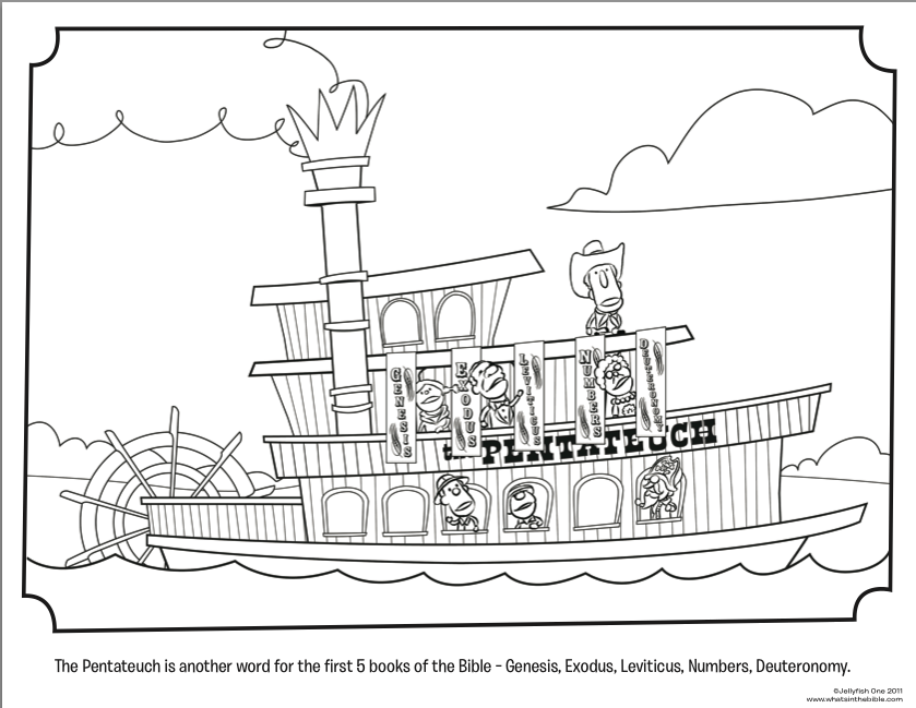 Steamboat coloring #13, Download drawings