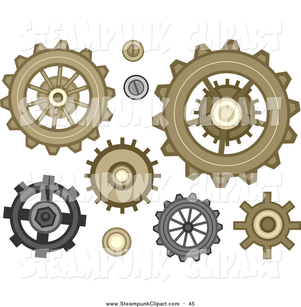 Steampunk clipart #11, Download drawings