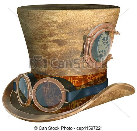 Steampunk clipart #9, Download drawings