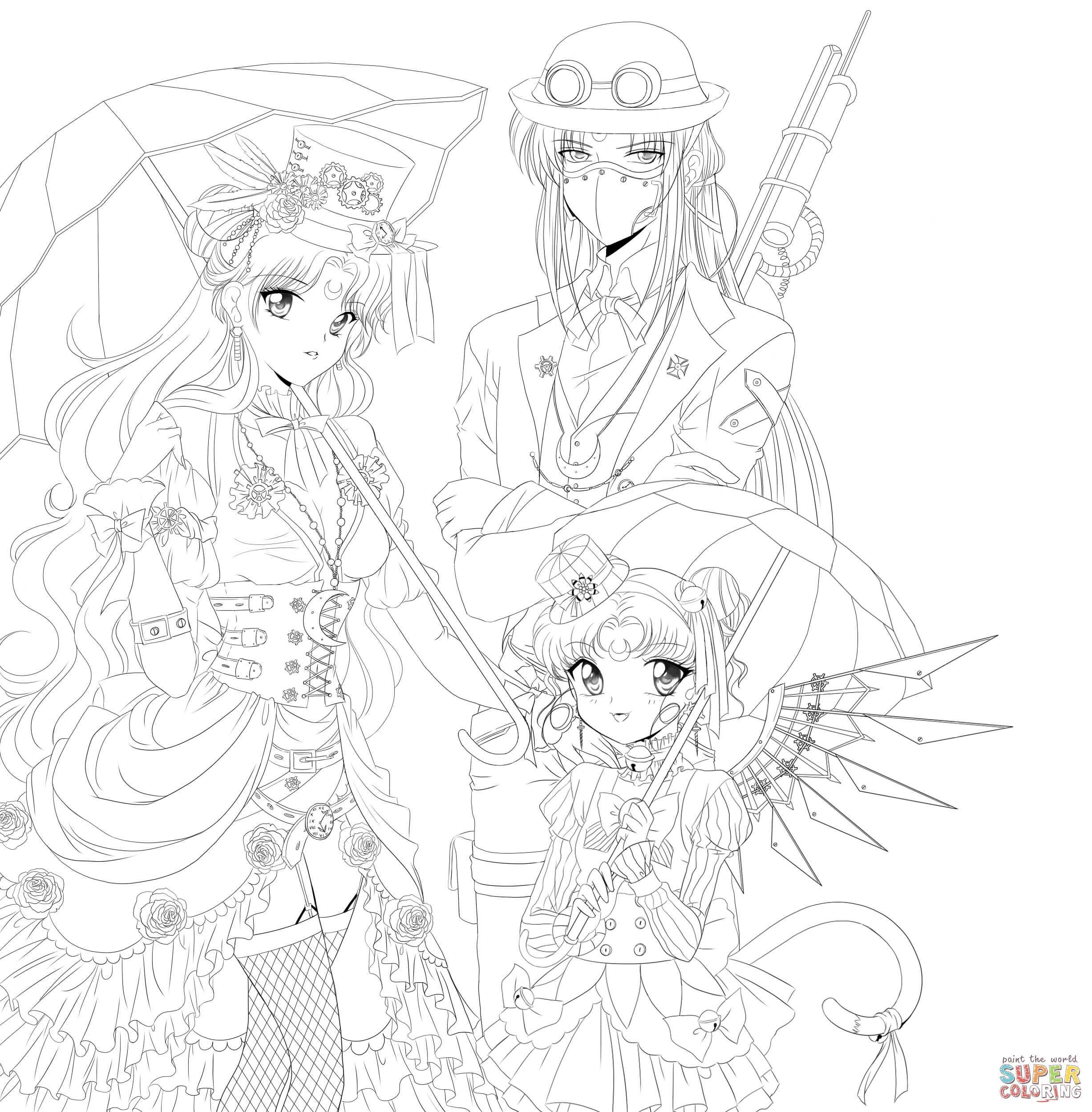 Download Steampunk Coloring For Free Designlooter 2020
