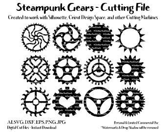 Steampunk svg #3, Download drawings