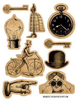 Steampunk svg #4, Download drawings