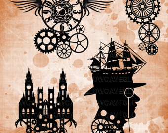 Steampunk svg #19, Download drawings