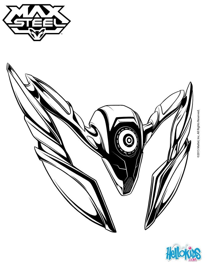 Steel coloring #4, Download drawings