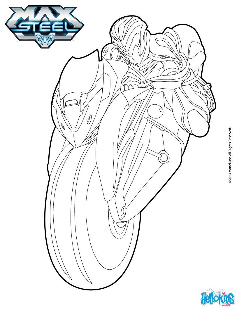 Steel coloring #2, Download drawings
