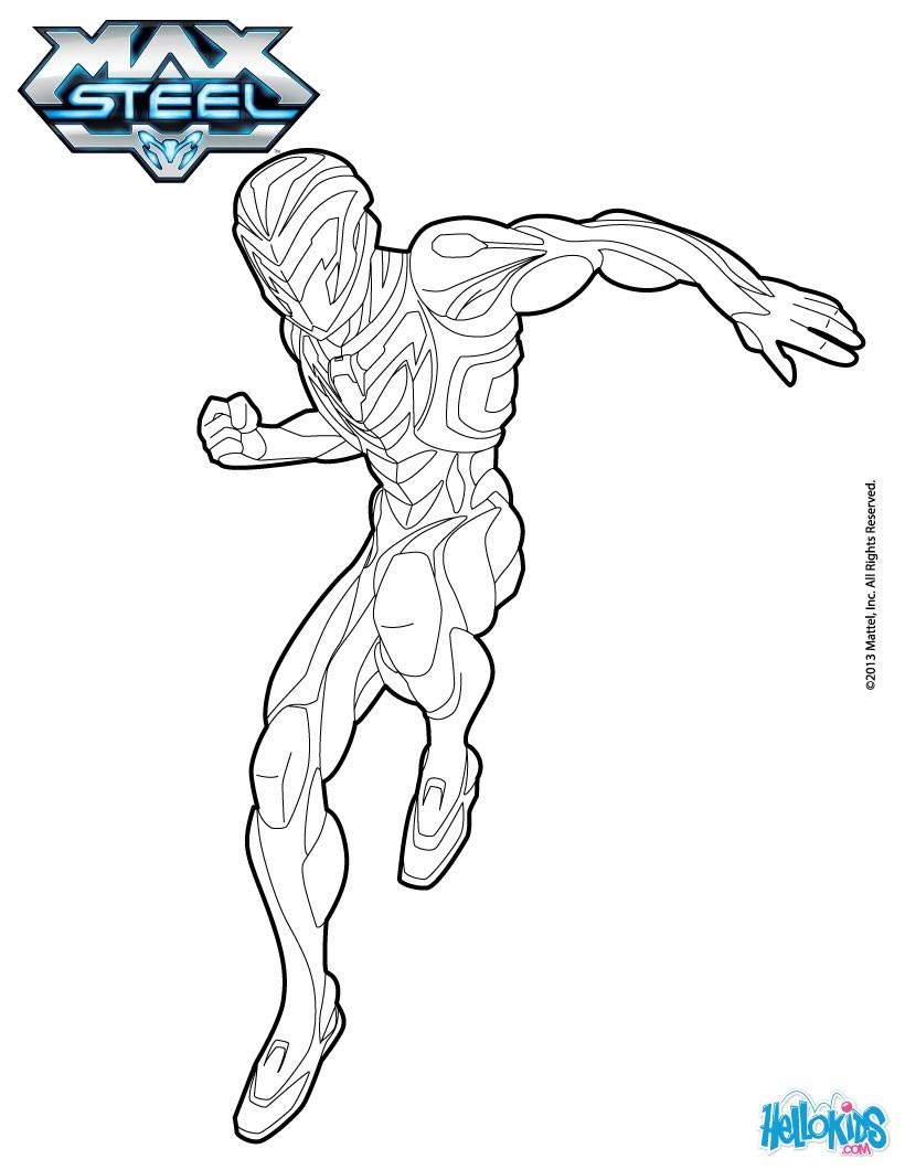 Steel coloring #3, Download drawings
