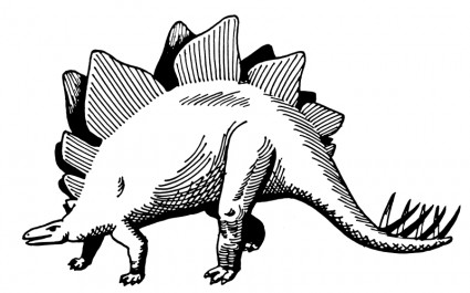 Stegosaurus clipart #8, Download drawings