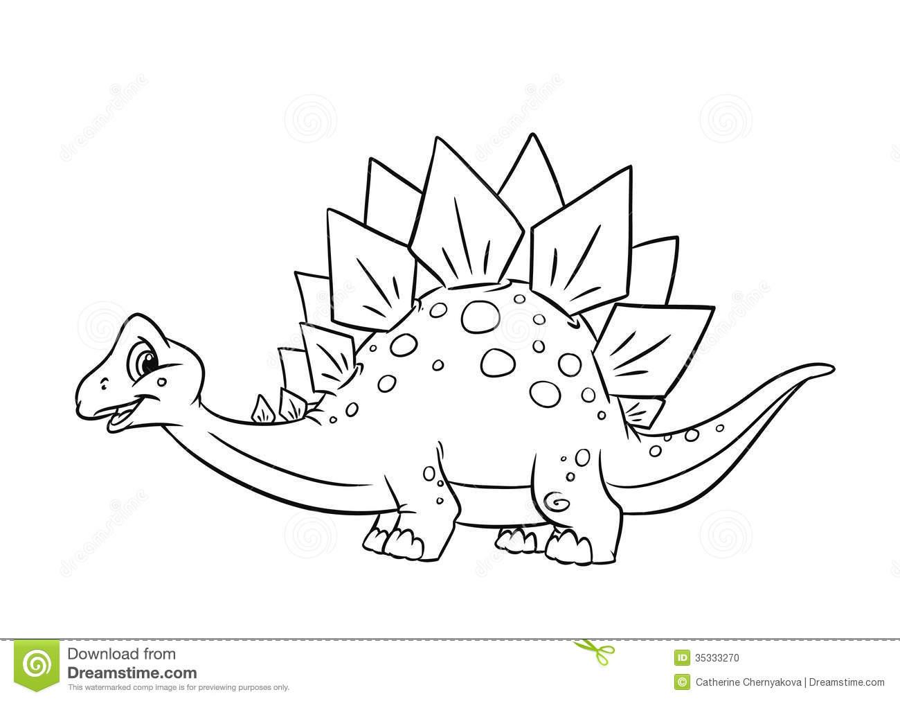 Stegosaurus coloring #20, Download drawings