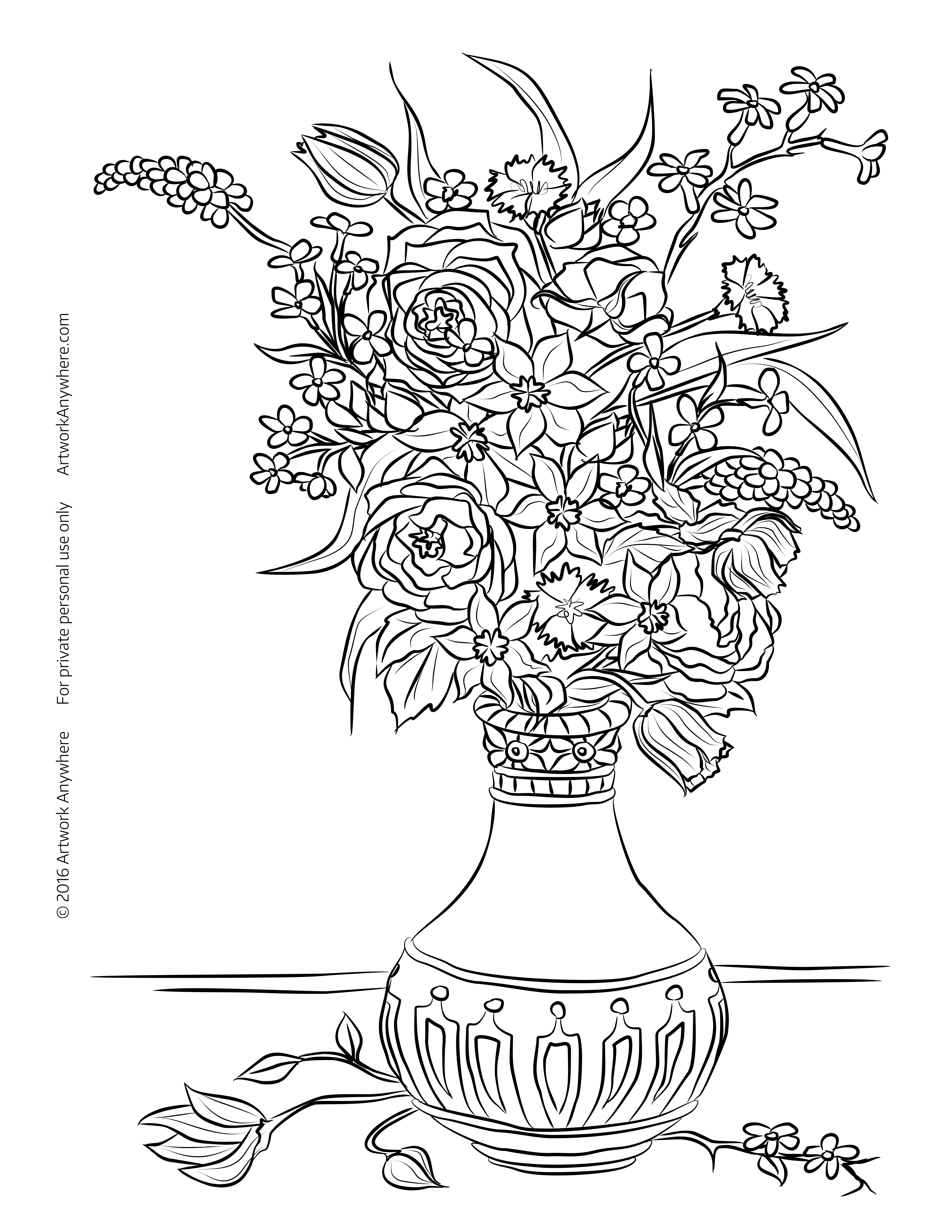 Still Life coloring #19, Download drawings