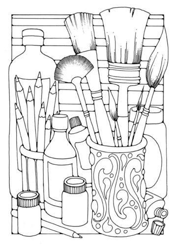Still Life coloring #18, Download drawings
