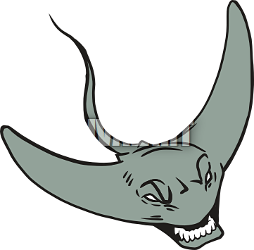 Stingray clipart #14, Download drawings