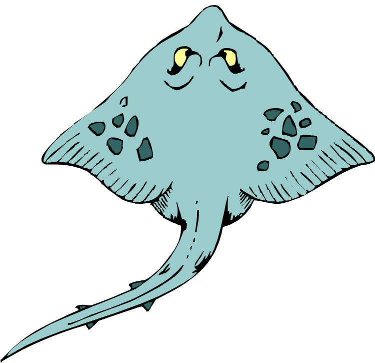 Stingray clipart #6, Download drawings