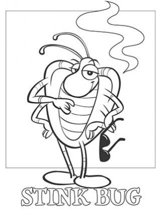 Stink Bug coloring #13, Download drawings