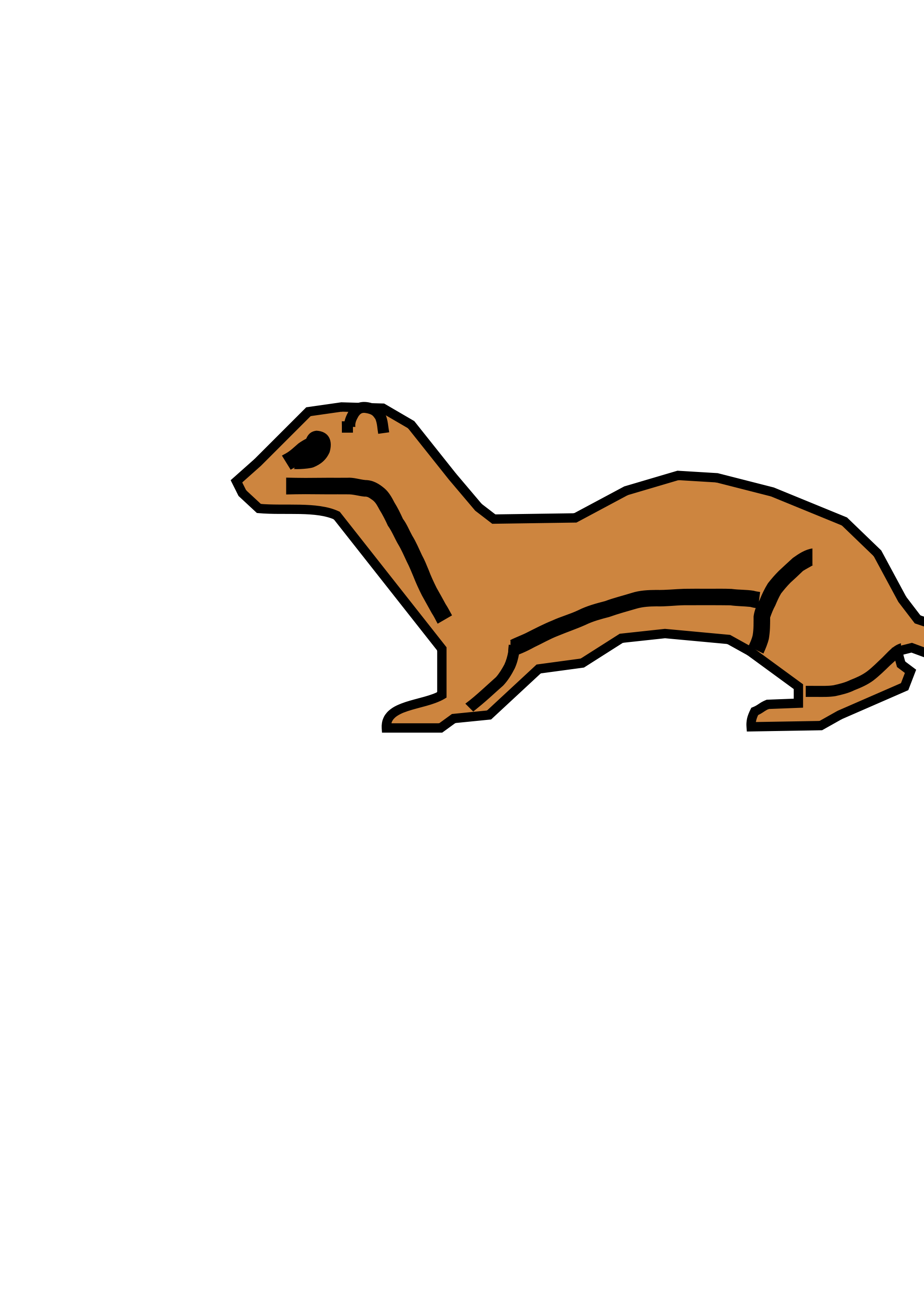 The Stoat svg #19, Download drawings