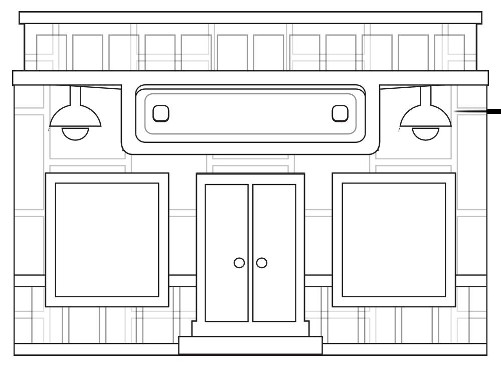 Store coloring #7, Download drawings