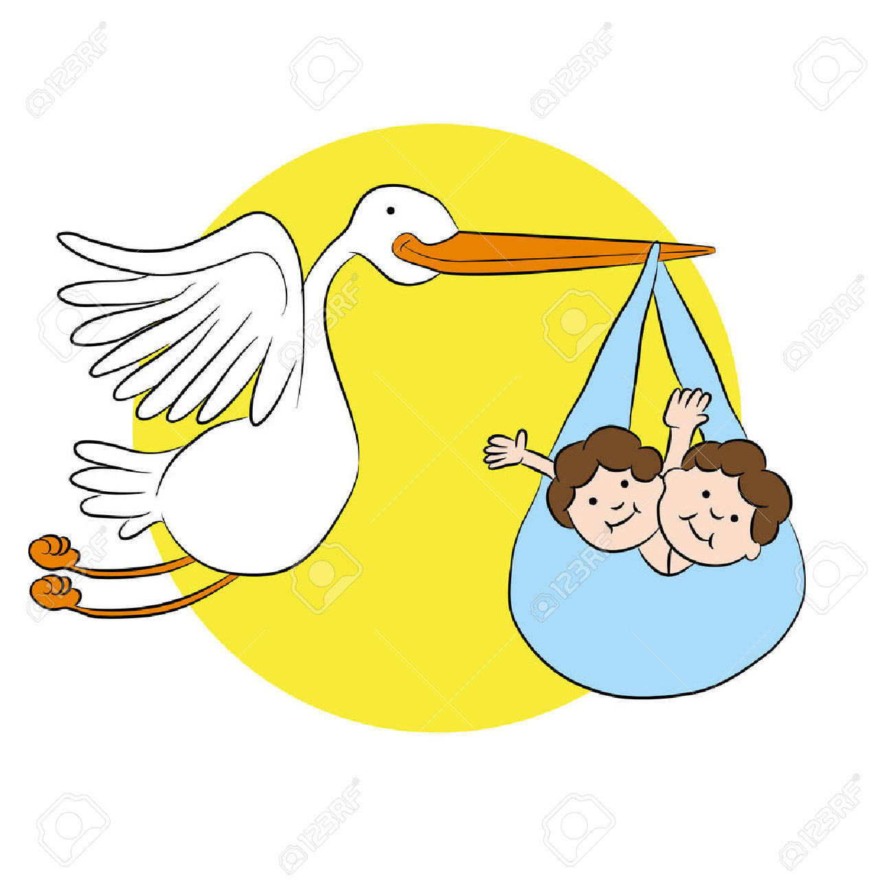 Stork clipart #1, Download drawings