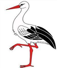 Stork clipart #18, Download drawings