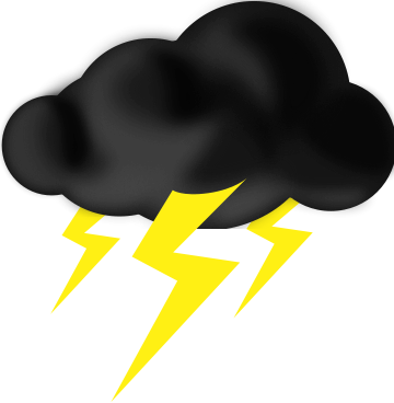Thunder Storm clipart #2, Download drawings