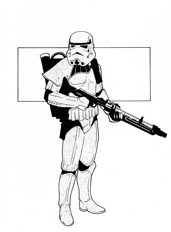 Stormtrooper clipart #10, Download drawings