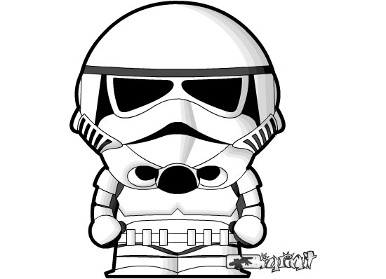 Stormtrooper clipart #17, Download drawings