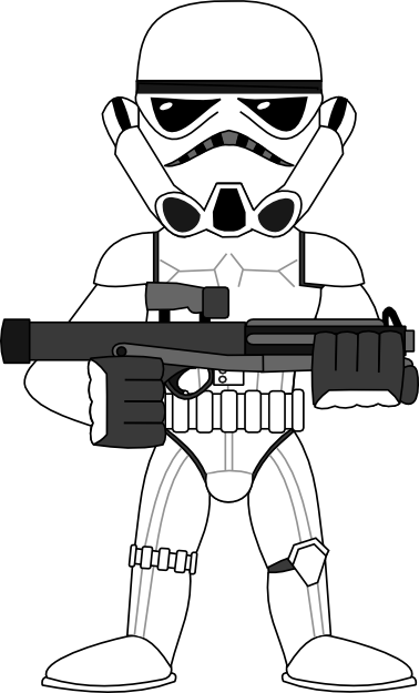 Stormtrooper clipart #8, Download drawings