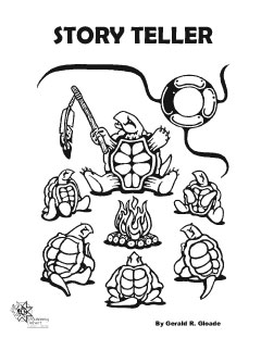 Storyteller coloring #10, Download drawings