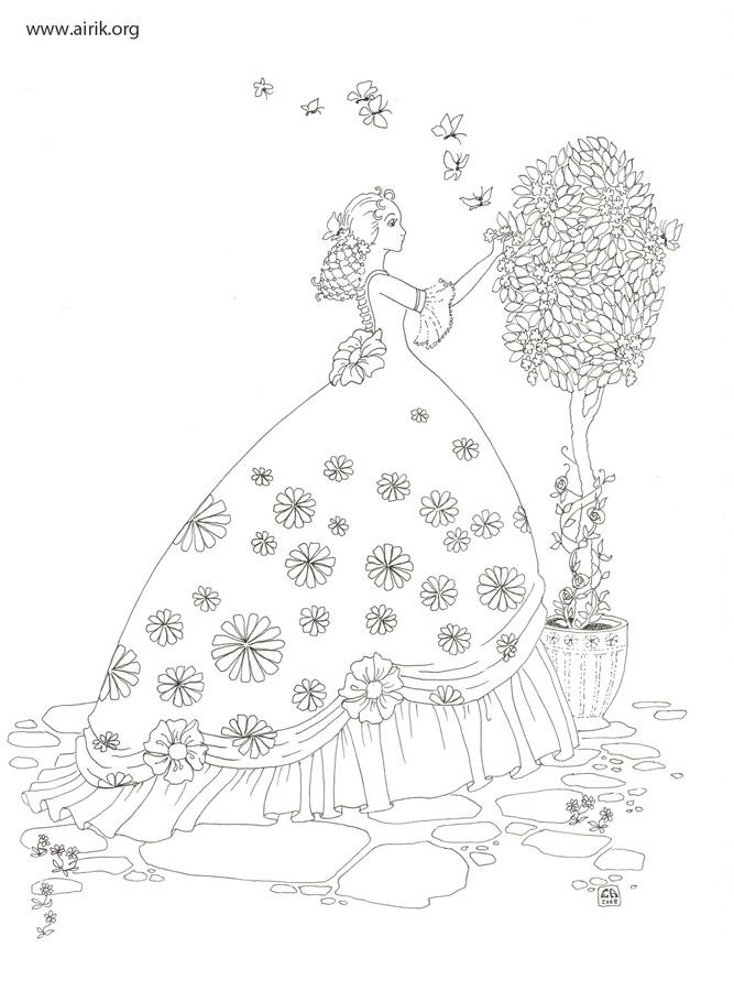 Storyteller coloring #3, Download drawings