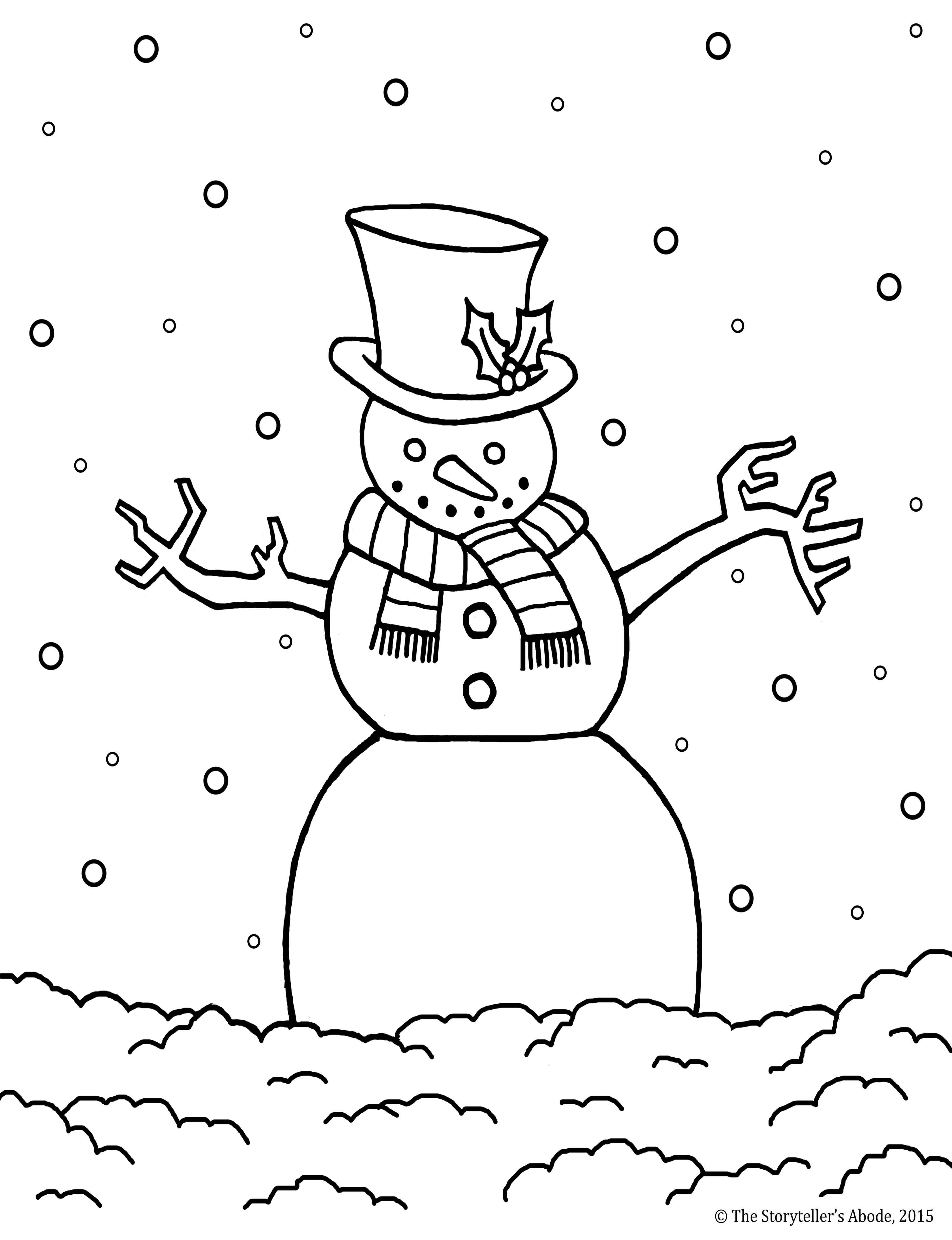 Storyteller coloring #1, Download drawings