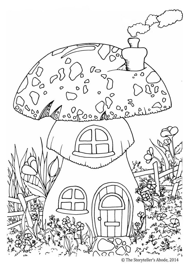 Storyteller coloring #14, Download drawings